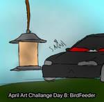 April Art Challange Day 8: Birdfeeder