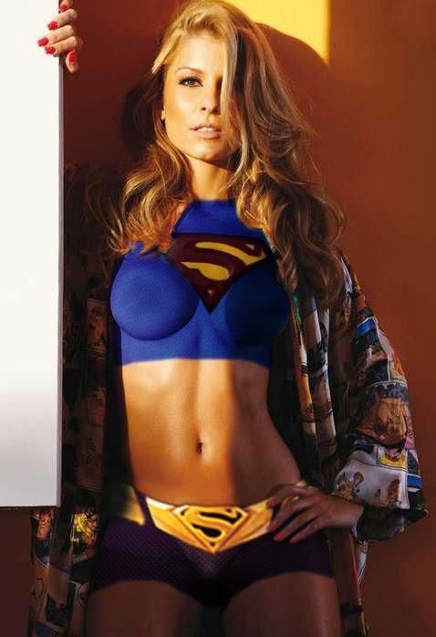 Barbara Borges supergirl by ThiagoCA on DeviantArt