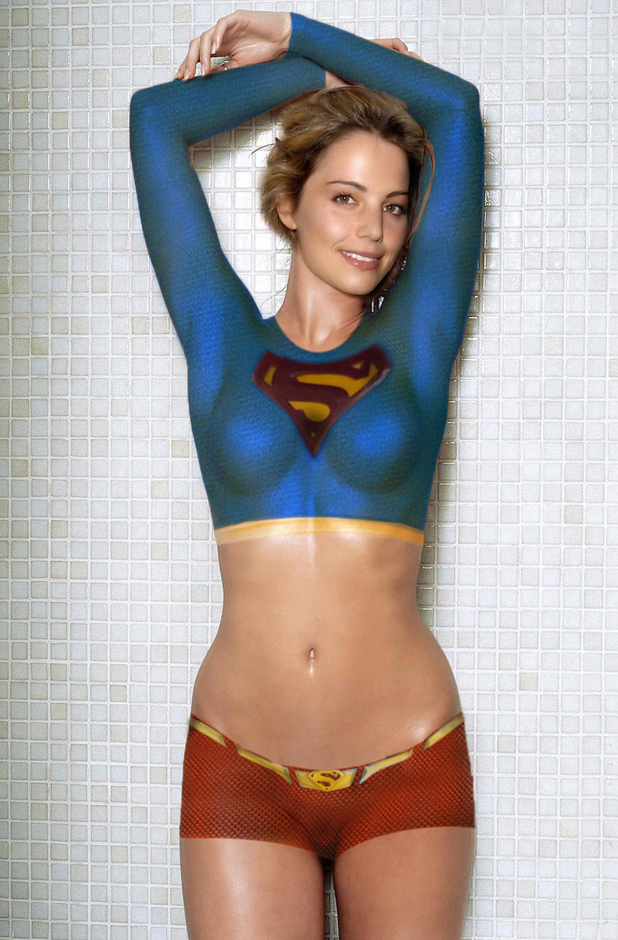 Erica Durance Supergirl By Thiagoca