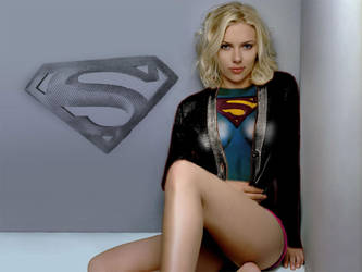 Scarlett Johansson supergirl 3