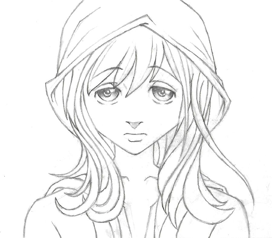 Sketch2CapGirl by Dany666