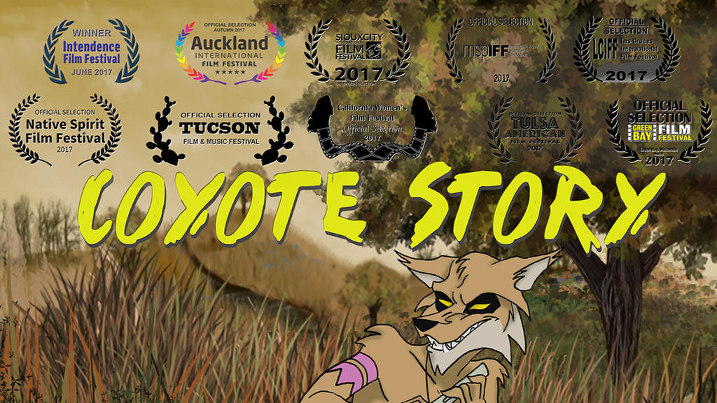 Coyote Story banner by gryphons-aerie