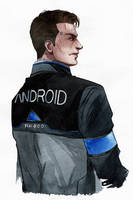 Connor - sketch2 by Yussik-yuu