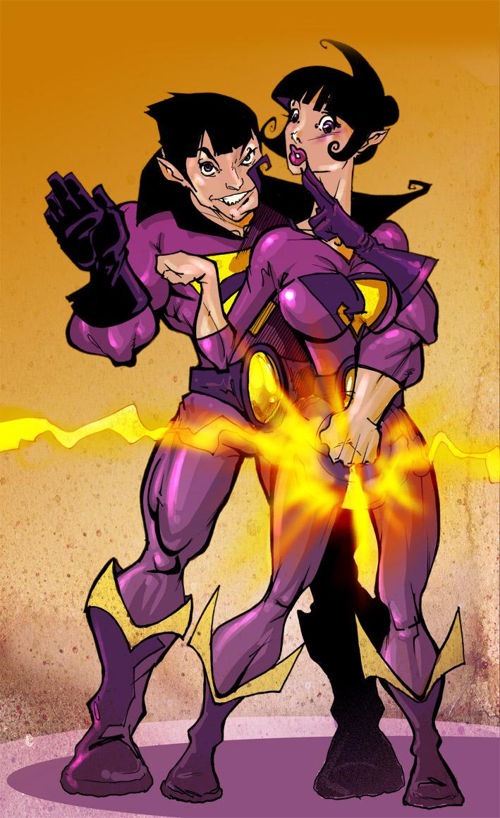 Wonder Twin Powers Activate By Abraibarnabas On Deviantart
