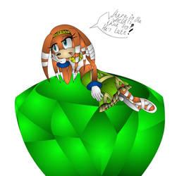 Bored Tikal by Sonicthebitch