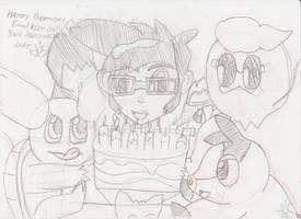 e4animation'Evan's' Birthday Present 2013 (Sketch)