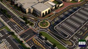 Mall Roundabout (Minecraft)