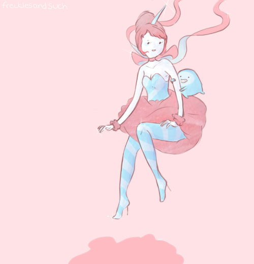 Cotton Candy Princess Redraw by alicejane98