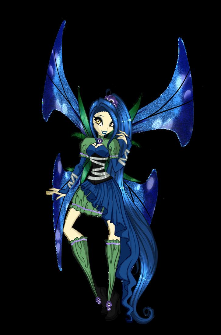 Winx Secret Santa - Spirit Mythix by KillerGirlFuria