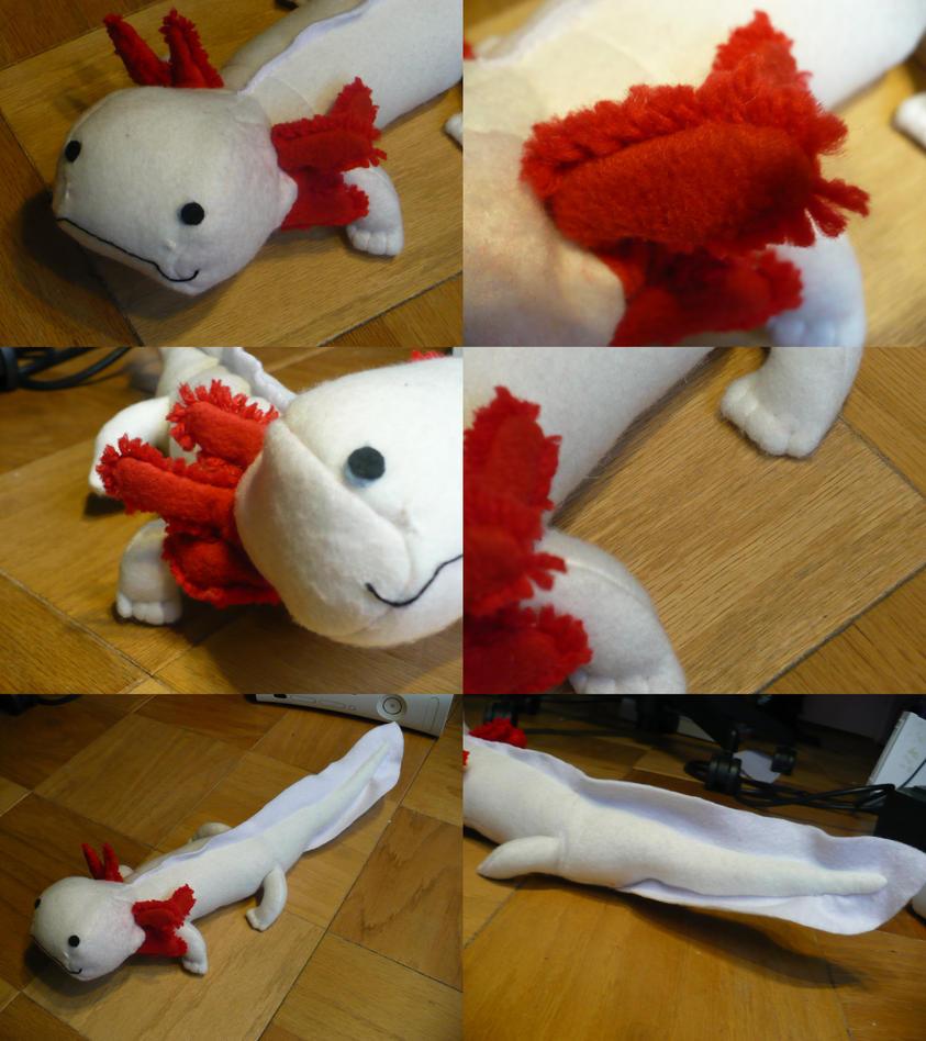 Axolotl Stuffed Animal...