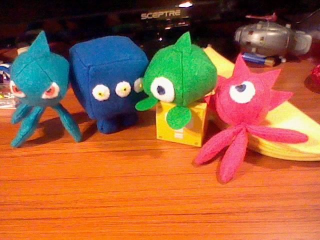 The gallery for --> Sonic Colors Wisps Plush