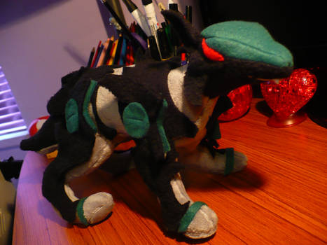 Shadow Fox Plushie 2