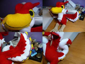 Crimson Loftwing Plushie