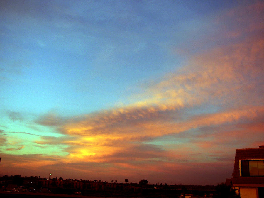 California    Sunset    # 0006 by ANGELICA-LILY