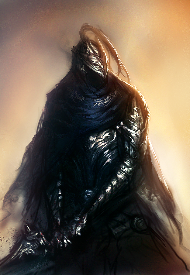 Dark Souls: Artorias the Abysswalker by ae-rie