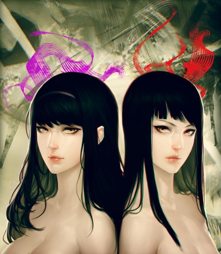 GT: Kikuchi Twins by ae-rie