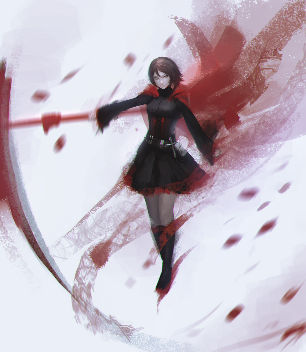 Rwby red like roses by ae rie on deviantart - Rwby ruby rose fanart ...