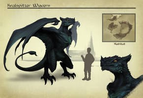 AA: Kralspitzer Wyvern by ae-rie