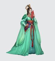 Jade Princess by ae-rie