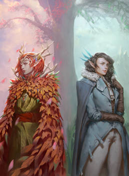 Critical Role - Keyleth and Vex'ahlia