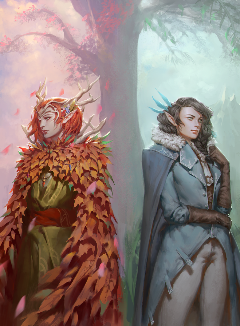 Critical Role Keyleth And Vex Ahlia By Ae Rie On Deviantart It goes about as well as you would expect. critical role keyleth and vex ahlia