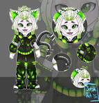 [OPEN] Cybergoth Nekomata [SP] [#3] by JaskaS-Adopts