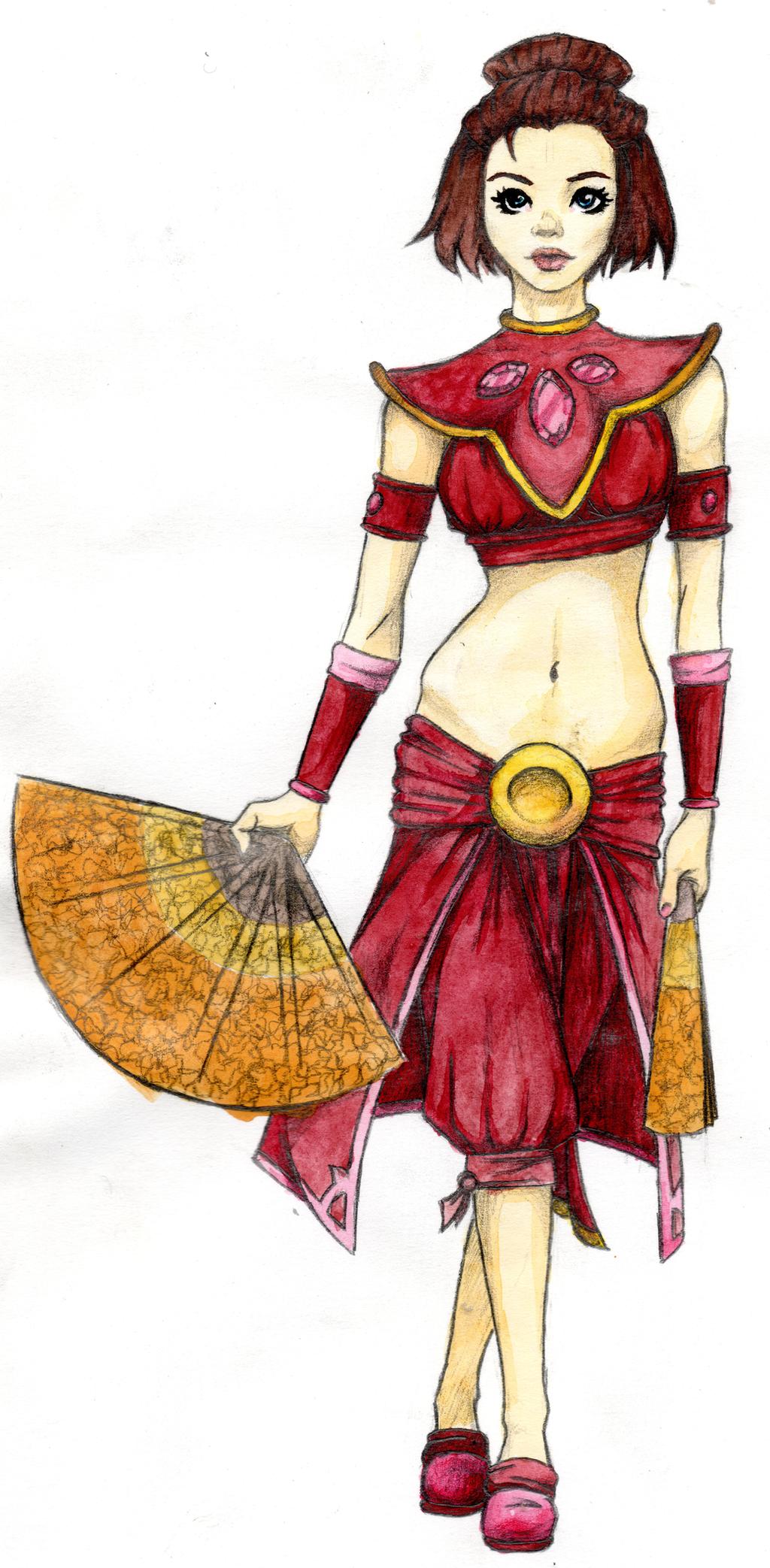 Suki From Avatar