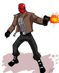 The Red Hood by RevDenton
