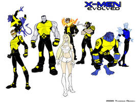 X-Men Redesigns by RevDenton