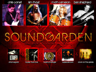 Soundgarden Wallpaper by inertiafx