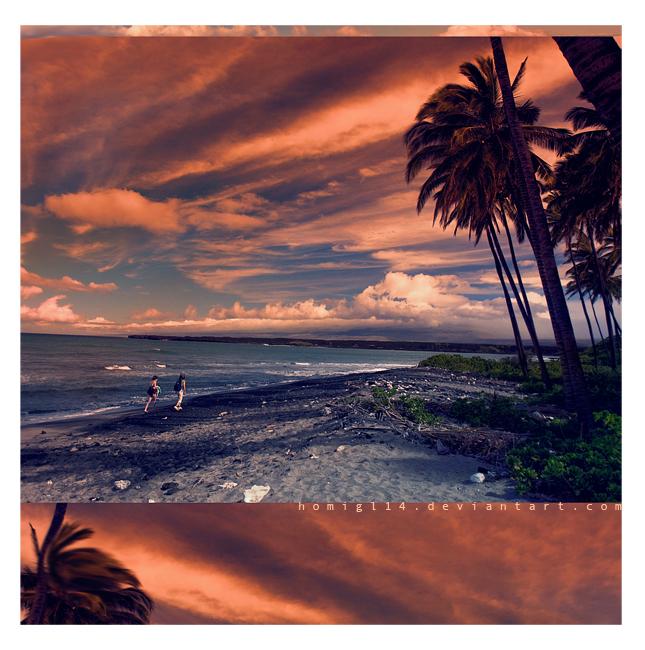 Oh la la plage by homigl14