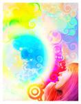 RainbowShock Canvas by homigl14