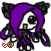 Hitaru the gothic seedrian by Uxiethecat