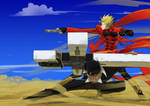 Trigun vash the stampede and wolfwood