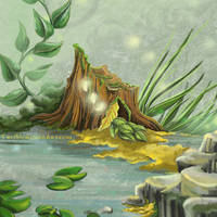 Fairy Lights by TwoHorizonsArt
