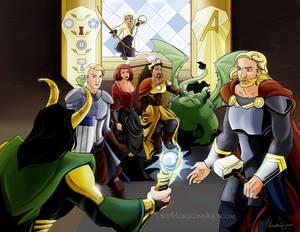 Avengers AU