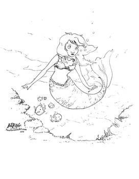 Mermaid (inktober2016)