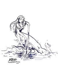 Aquarius by TwoHorizonsArt