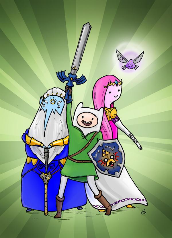 It's Zelda Time! by TwoHorizonsArt
