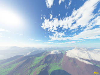 Mountain-Scape by hlark324