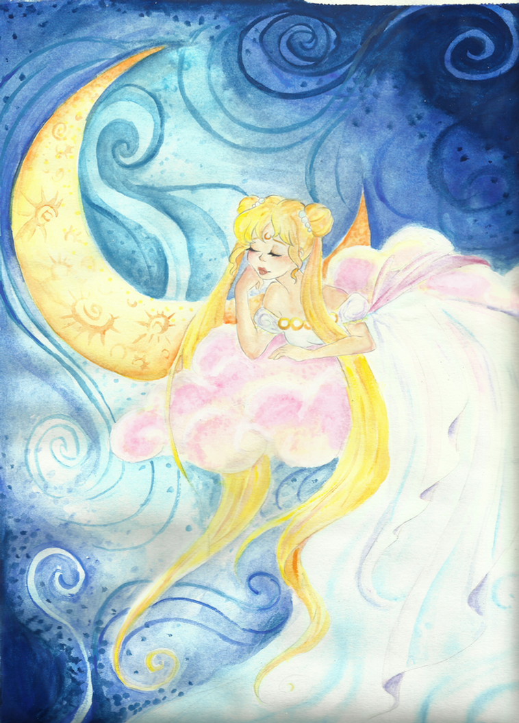 Moon Princess by otter-faerie