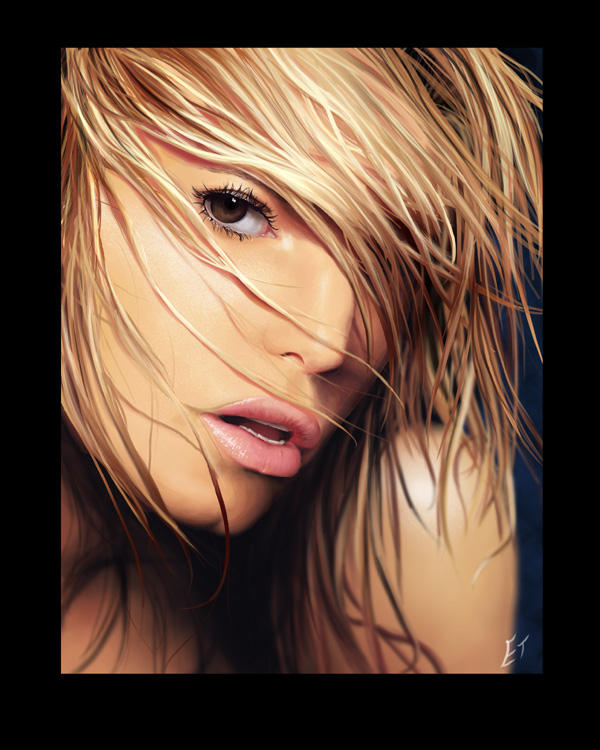 Jessica Simpson by evanpigeon