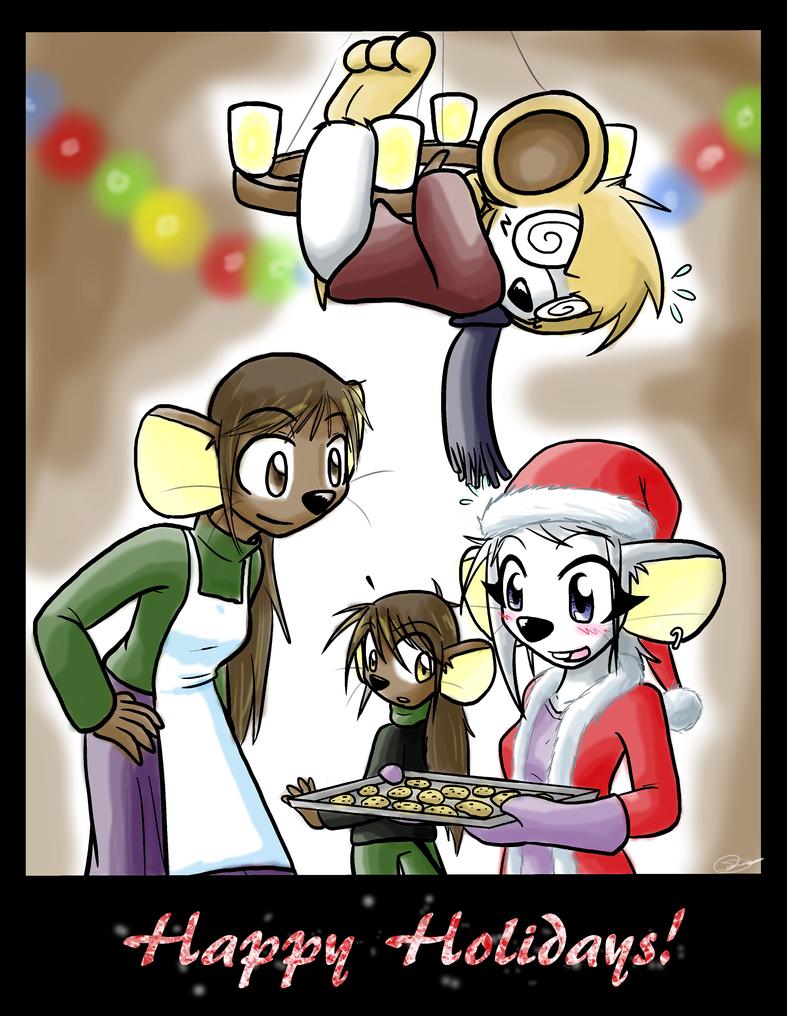 HP Christmas 2011 by Zaron