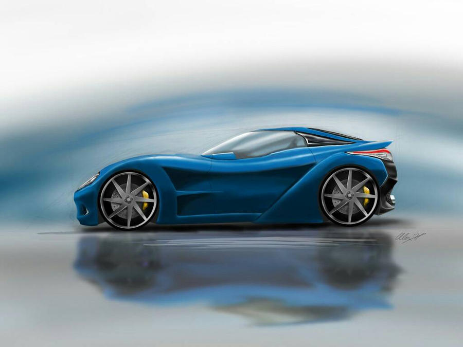 concept car sketc by alexhp25