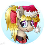AmySquee Christmas Avatar [Commission]