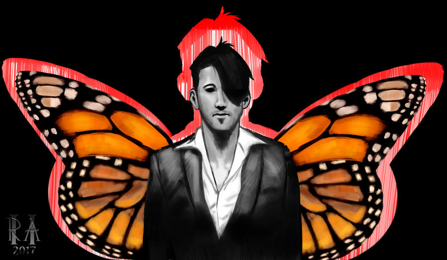 Darkiplier-fly by CosmicRick
