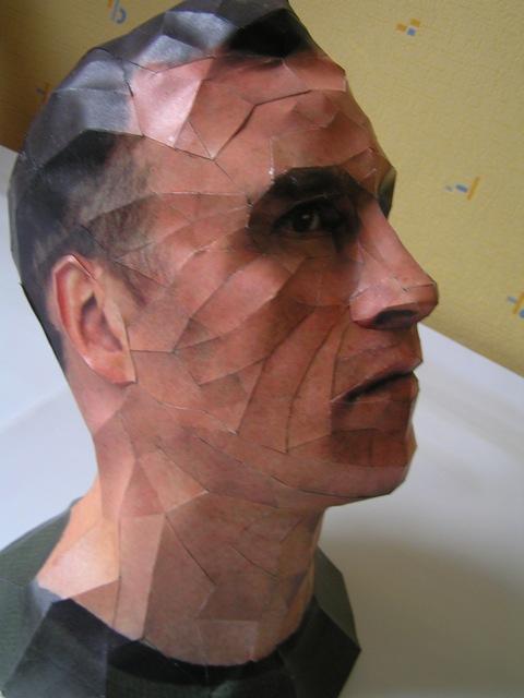 Bert Simon's head by LisciuPL