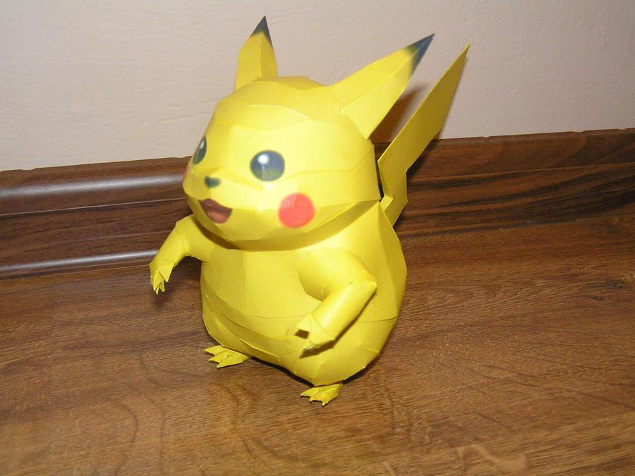 Pikachu by LisciuPL