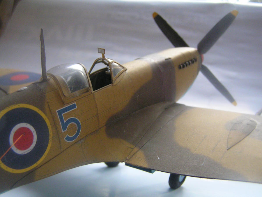 Spitfire Mk IXc by LisciuPL