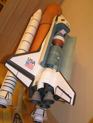 Space Space Shuttle Columbia 1:72 by LisciuPL